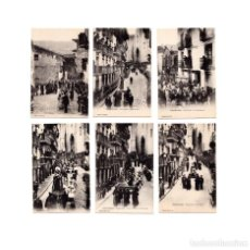 Postales: FUENTERRABÍA.- 'PROCESIÓN DEL VIERNES SANTO'. 6 POSTALES. PERFECTAS.. Lote 166203534