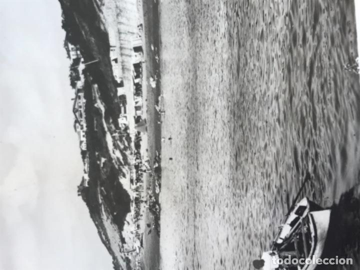 Postales: fotografica guethary guetaria costa vasca la playa bedart y biarritz la bouche real photo Cap - Foto 2 - 166264486