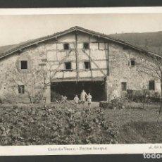 Cartes Postales: PAIS VASCO-CASERIO VASCO-FOTOGRAFICA ROISIN-POSTAL ANTIGUA-(59.736). Lote 166451430