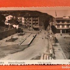 Postales: FOTOGRAFICA GUETARIA NUEVO ENSANCHE VILLE NOUVELLE GUIPUZCOA PHOTO GAR PERFECTA. Lote 166467686