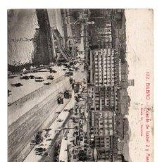 Postales: POSTAL DE BILBAO - PUENTE DE ISABEL 2 Y ARENAL. Lote 166872392