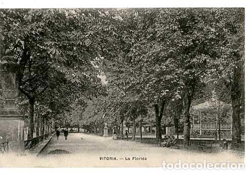 VITORIA LA FLORIDA ED. E.J.G. SIN CIRCULAR (Postales - España - Pais Vasco Antigua (hasta 1939))