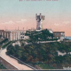 Postales: POSTAL SAN SEBASTIAN - MONTE IGUELDO - GALARZA 412 - CIRCULADA. Lote 166933204