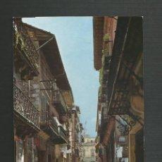 Postales: POSTAL CIRCULADA - HERNANI 4254 - CALLE MAYOR - EDITA FUERTES. Lote 167651756