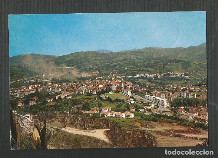POSTAL CIRCULADA - HERNANI 4253 - VISTA GENERAL - EDITA FUERTES (Postales - España - País Vasco Moderna (desde 1940))