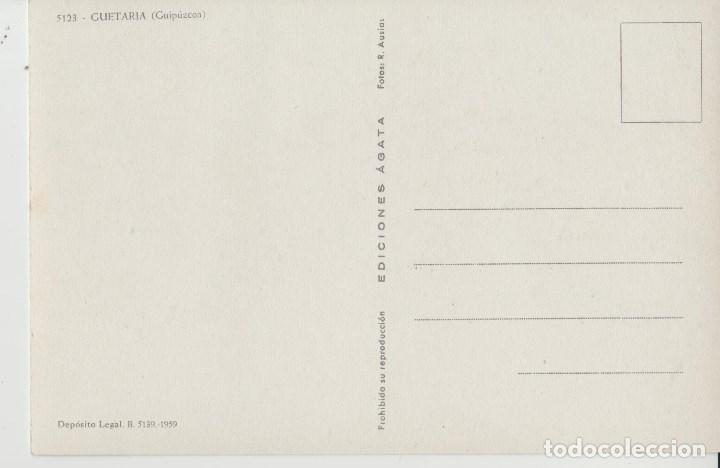 Postales: POSTALES POSTAL GUETARIA GUIPUZCUA PAIS VASCO AÑO 1959 - Foto 2 - 167868000