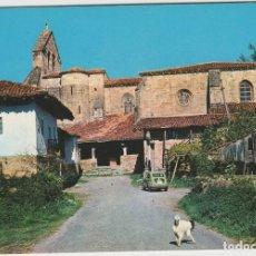 Postales: POSTALES POSTAL GALDACANO VIZCAYA PAIS VASCO AÑOS 60 SEAT 600. Lote 167868168