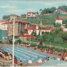 Postales: POSTALES POSTAL PLENCIA VIZCAYA PAIS VASCO AÑOS 60 PISCINA. Lote 167869068