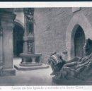 Postales: POSTAL LOYOLA - FUENTE DE SAN IGNACIO Y ENTRADA A LA SANTA CASA - ARRIBAS 17 - CIRCULADA. Lote 168042092