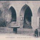 Postales: POSTAL FUENTERRABIA - INTERIOR DEL CASTILLO DE CARLOS V - TIBURCIO BERROTARAN. Lote 168045032