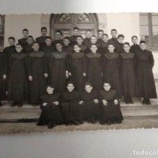 Postales: TARJETA POSTAL SEMINARISTAS SAN SEBASTIAN AÑOS 60. Lote 168120760