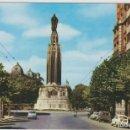 Postales: POSTAL SIN CIRCULAR BILBAO 1963 GRAN VÍA MONUMENTO SAGRADO CORAZÓN JESÚS ESPAÑA POST CARD. Lote 168344392