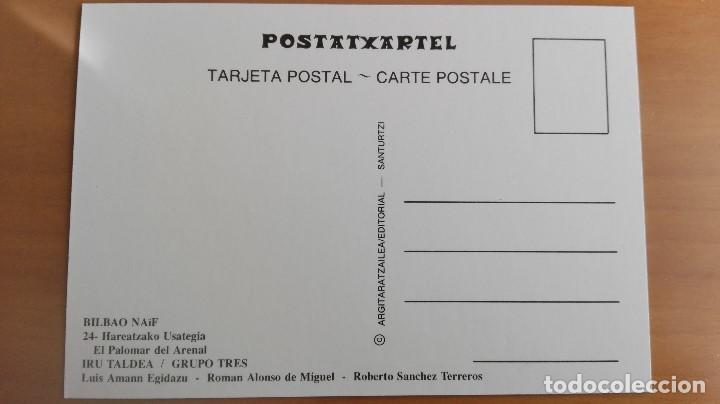 Postales: POSTAL NAIF BILBAO Nº 24 PALOMAR DEL ARENAL PERFECTA CONSERVACION VIZCAYA PAIS VASCO - Foto 2 - 168585814