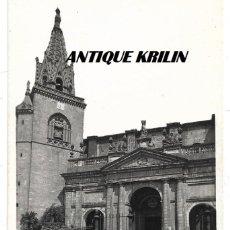 Postales: AZPEITIA .- IGLESIA PARROQUIAL .- EDICIONES ARRIBAS . Lote 168777944
