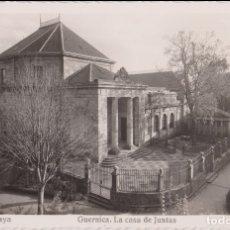 Postales: FOTO / POSTAL VIZCAYA, GUERNICA, LA CASA DE JUNTAS - MADYMA Nº 131 - S/C. Lote 168825072