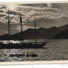 Postales: SAN SEBASTIAN Nº 267 EFECTOS DE SOL EN LA BAHIA .- FOTO GALARZA . Lote 169058212