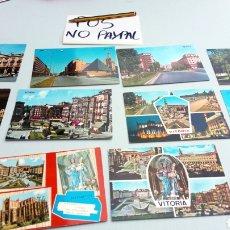 Postales: POS LOTE 12 POSTALES VITORIA GASTEIZ ÁLAVA ANTIGUAS ALGUNAS CIRCULADAS. Lote 169094397
