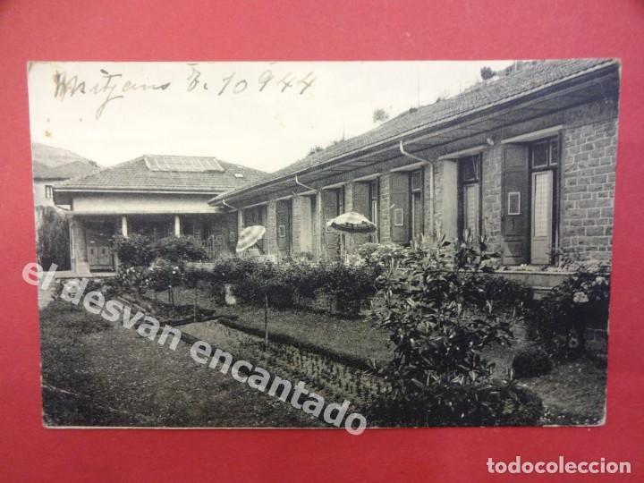 EIBAR. SANATORIO DEL DOCTOR ARRILLAGA. POSTAL CIRCULADA CON CENSURA MILITAR AL DORSO (Postales - España - Pais Vasco Antigua (hasta 1939))