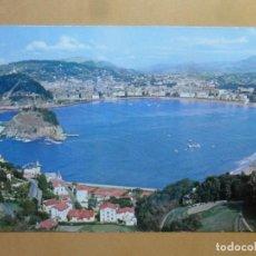 Postales: POSTAL - 1 - SAN SEBASTIAN (GUIPUZCOA) - VISTA GENERAL DESDE EL MONTE IGUELDO - FOTOCOLOR GALARZA. Lote 169385528