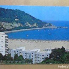 Cartoline: POSTAL - 36 - FUENTERRABIA (GUIPUZCOA) - LA PLAYA - ED. MANIPEL - 1972. Lote 169410052