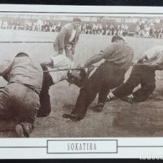 Postales: 1991. POSTAL. JUEGOS Y DEPORTES VASCOS. SOKATIRA (1931). MÁXIMO ESFUERZO. EJEMPLAR DE GRAN CALIDAD.. Lote 169436332
