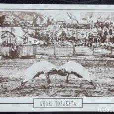 Postales: 1991. POSTAL. JUEGOS Y DEPORTES VASCOS. LUCHA DE CARNEROS (1929). EMBESTIDA. EJEMPLAR GRAN CALIDAD.. Lote 169437324