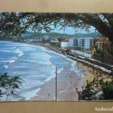Postales: POSTAL - 54 - ZARAUZ (GUIPUZCOA) - VISTA PARCIAL DE LA PLAYA - FOTO GAR. Lote 169551948