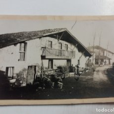 Cartes Postales: PAIS VASCO-CASERIO VASCO-POSTAL PROTOTIPO ARCHIVO FOTOGRAFICO ROISIN-FOTO PEGADA-(61.059). Lote 169926512