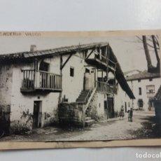 Cartes Postales: PAIS VASCO-CASERIO VASCO-POSTAL PROTOTIPO ARCHIVO FOTOGRAFICO ROISIN-FOTO PEGADA-(61.060). Lote 169926552