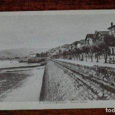 Postales: POSTAL DE FUENTERRABIA, N.9, PASEO BUTIM, NO CIRCULADA.. Lote 170098012