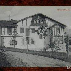 Postales: POSTAL DE FUENTERRABIA (GUIPUZCOA). VILLA LORAIZT, NO CIRCULADA.. Lote 170098408