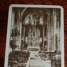 Postales: POSTAL DE FUENTERRABIA, INTERIOR DE LA IGLESIA, N.52. LA ESPAÑOLA, NO CIRCULADA.. Lote 170184912