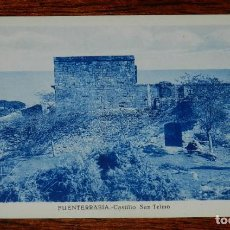 Postales: POSTAL DE FUENTERRABIA, CASTILLO DE SAN TELMO, ED. L. ROISIN, NO CIRCULADA.. Lote 170185092