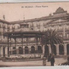 Postales: BILBAO 44 PLAZA NUEVA. GRAFOS MADRID. SIN CIRCULAR. . Lote 170942470