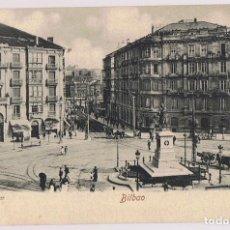 Postales: POSTAL BILBAO PLAZA CIRCULAR . Lote 171411503