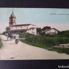 Postales: VIZCAYA PUEBLO DE GATICA. Lote 171447942
