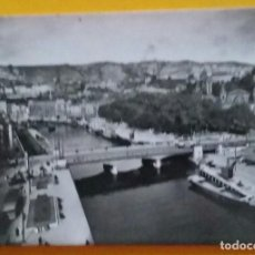 Postales: POSTAL FOTOGRAFICA BILBAO. LA RIA DESDE EL RASCACIELOS. N. 1007. FOTO ALFONSO.. Lote 171454488