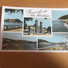 Postales: RECUERDO DE SAN SEBASTIÁN. Lote 171673347