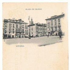 Postales: POSTAL VITORIA PLAZA DE BILBAO . Lote 171740939