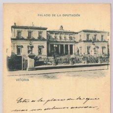 Postales: POSTAL VITORIA PALACIO DE LA DIPUTACIÓN . Lote 171741853