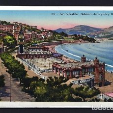 Cartes Postales: TARJETA POSTAL SAN SEBASTIÁN - 99 - BALNEARIO DE LA PERLA Y MIRA-CONCHA - FOTO GALARZA -SIN CIRCULAR. Lote 171765719
