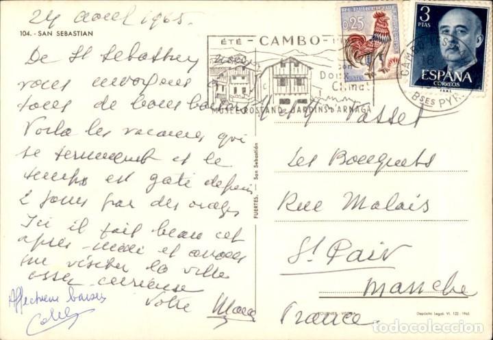 Postales: San Sebastian – Donostia - Foto 2 - 171816083