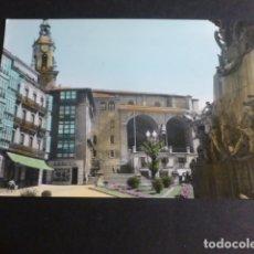 Postales: VITORIA PLAZA DE LA VIRGEN BLANCA. Lote 172010158