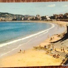Postales: SAN SEBASTIAN - PLAYA DE LA CONCHA. Lote 172130737