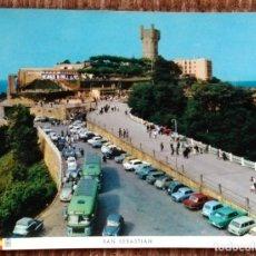 Postales: SAN SEBASTIAN - PARQUE DE IGUELDO. Lote 172134127