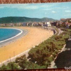 Postales: SAN SEBASTIAN - PLAYA DE LA CONCHA. Lote 172134589