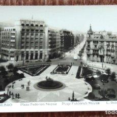 Postales: BILBAO - PLAZA DE FEDERICO MOYUA. Lote 172135119