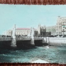 Postales: SAN SEBASTIAN - GRAN KURSAAL - FOTO RELIEVE. Lote 172137229