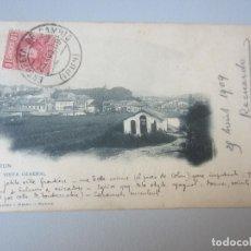 Postales: POSTAL IRUN REVERSO SIN DIVIDIR. Lote 172716372