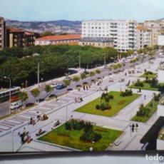 Postales: POSTAL IRUN .-PASEO COLON Y PL.ESPAÑA. Lote 172726465